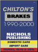 1990 - 2000 Brake Specifications and Service by Chilton (SKU: 0801993121)