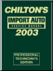2003 Chilton's Import Auto Service Manual, Shop Edition (1999 - 2002 Year coverage) (SKU: 0801993571)