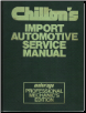 1975 - 1981 Chilton's Import Auto Service Manual, Shop Edition (SKU: 080197061X)