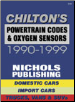 1990 - 1999 Powertrain Codes & Oxygen Sensors by Chilton (SKU: 0801991277)