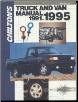 1991 - 1995 Chilton's Truck & Van Repair Manual (SKU: 0801979110)