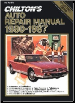 1980 - 1987 Chilton's Auto Repair Manual (SKU: 0801976707)