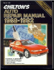 1988 - 1992 Chilton's Auto Repair Manual (SKU: 0801979064)