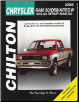 1979 - 1993 Dodge Ram 50 / D50 / Arrow Chilton's Total Car Care Manual (SKU: 0801990890)