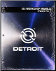Detroit Diesel S60 Factory Workshop Manual, 2013 EPA04/98 - 3 Volume Set (SKU: DDC-SVC-MAN-0004)