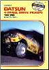 1980 - 1982 Datsun 4-Wheel Drive Pickups Shop Manual (SKU: 0892873442)