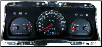 1998 - 2002 Ford Crown Victoria Instrument Cluster Repair (Police Package; with 140 MPH) (SKU: F8AF17282GA)