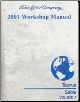 2001 Ford Taurus & Mercury Sable Workshop Manual 2 Volume Set (SKU: FCS12055011-2)