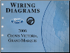 2006 Ford Crown Victoria & Mercury Grand Marquis Wiring Diagrams Manual (SKU: FCS1211806)