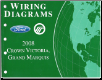 2008 Ford  Crown Victoria & Mercury Grand Marquis - Wiring Diagrams (SKU: FCS1211808)