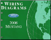 2008 Ford Mustang Factory Wiring Diagrams (SKU: FCS1212108)