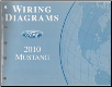 2010 Ford Mustang Wiring Diagrams Manual (SKU: FCS1212110)