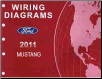 2011 Ford Mustang Factory Wiring Diagrams Manual (SKU: FCS1212111)