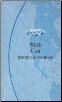 2006 Ford Factory Car Specifications Book (SKU: FCS1213906)