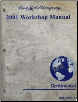 2001 Lincoln Continental Workshop Manual   2 Volume Set (SKU: FCS12169011-2)