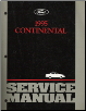 1995 Lincoln Continental Factory Service Manual (SKU: FCS1216995)