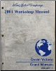 2001 Ford Crown Victoria & Mercury Grand Marquis Workshop Manual   2 Volume Set (SKU: FCS12191011-2)