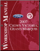 2007 Ford Crown Victoria & Mercury Grand Marquis Factory Service Manual (SKU: FCS1219107)