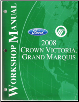 2008 Ford Crown Victoria & Mercury Grand Marquis Factory Service Manual (SKU: FCS1219108)