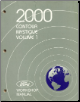2000 Ford Contour & Mercury Mystique Workshop Manual   2 Volume Set (SKU: FCS12194001-2)