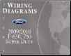 2009 - 2010 Ford F-650, 750 Super Duty Factory Wiring Diagrams Manual (SKU: FCS1220110)
