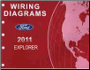 2011 Ford Explorer Factory Wiring Diagrams Manual (SKU: FCS1220611)