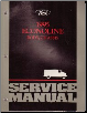 1995 Ford Econoline Ford Econoline Body, Chassis Powertrain & Drivetrain Service Manual, 2 Volume Set (SKU: FCS12251951-2)