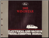 1995 Ford Windstar  Electrical and Vacuum Troubleshooting Manual (SKU: FCS1225595)