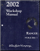 2002 Ford Ranger Factory Service Manual - 2 Vol. Set (SKU: FCS1254202)