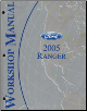 2005 Ford Ranger Factory Service Manual (SKU: FCS1254205)