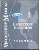 2009 Ford Expedition / Navigator Factory Workshop Manual - 2 Volume Set (SKU: FCS1256109-2)