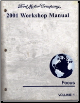 2001 Ford Focus Factory Workshop Manual - 2 Volume Set (SKU: FCS1294901-2)