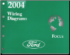 2004 Ford Focus Factory Wiring Diagrams (SKU: FCS1295004)