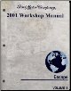 2001 Ford Escape Factory Workshop Manual - 2 Vol. Set (SKU: FCS12951011-2)