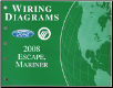 2008 Ford Escape & Mercury Mariner - Wiring Diagrams (SKU: FCS1295208)