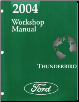 2004 Ford Thunderbird Factory Workshop Manual (SKU: FCS1302804)