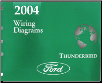 2004 Ford Thunderbird Factory Wiring Diagrams (SKU: FCS1324804)