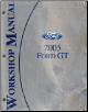 2005 Ford GT Factory Service Manual (SKU: FCS1379405)