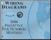 2006 Ford Freestyle, Five Hundred & Mercury Montego - Wiring Diagrams (SKU: FCS1395006)