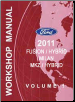 2011 Ford Fusion, Fusion Hybrid, Mercury Milan, Lincoln MKZ & MKZ Hybrid Factory Workshop Manual (SKU: FCS1426811)