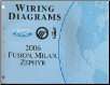 2006 Ford Fusion, Mercury Milan & Lincoln Zephyr - Wiring Diagrams (SKU: FCS1429906)