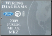 2009 Ford Fusion, Mercury Milan & Lincoln MKZ Factory Wiring Diagrams (SKU: FCS1429909)