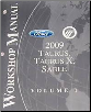 2009 Ford Taurus, Taurus X & Mercury Sable Factory Workshop Manual - 2 Vol Set (SKU: FCS1430009)