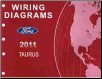 2010 Ford Taurus Factory Wiring Diagrams Manual (SKU: FCS1430110)
