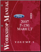 2007 Ford F-150 & Lincoln Mark LT Factory Service Manual - 2 Volume Set (SKU: FCS14331071-2)