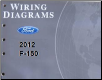 2012 Ford F-150 Truck Factory Wiring Diagrams (SKU: FCS1433212)