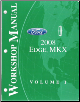 2008 Ford Edge, Lincoln MKX Factory Workshop Manual - 2 Volume Set (SKU: FCS1458808-1-2)