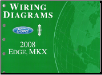 2008 Ford Edge, Lincoln MKX - Wiring Diagrams (SKU: FCS1458908)