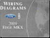 2009 Ford Edge and Lincoln MKX Factory Wiring Diagrams (SKU: FCS1458909)