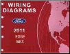 2011 Ford Edge & Lincoln MKX Factory Wiring Diagrams Manual (SKU: FCS1458911)